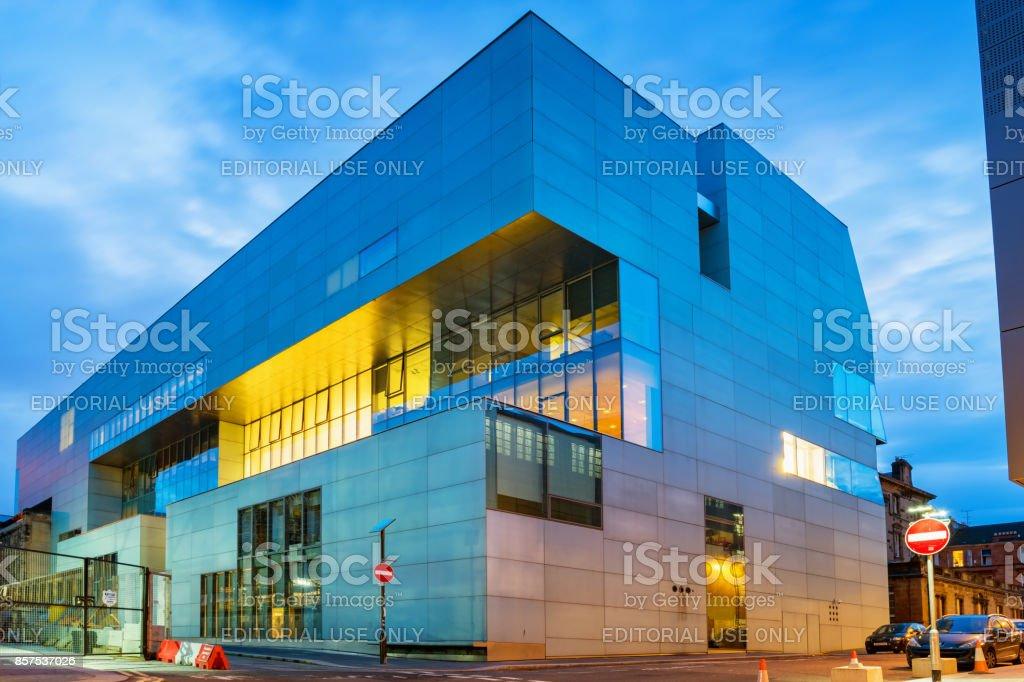 Glasgow School of Art Reid Building in Glasgow Scotland UK stock photo