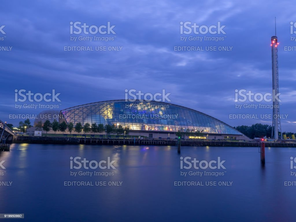 Glasgow Science Centre, Glasgow - foto stock