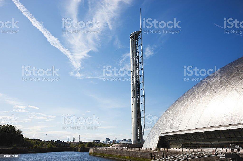 Glasgow Science Centre stock photo