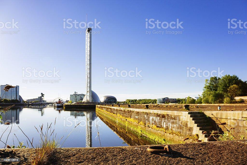 Glasgow Science Tower stock photo