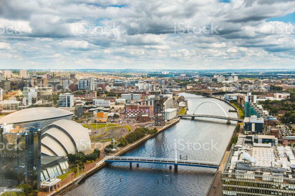Glasgow, Schottland – Foto