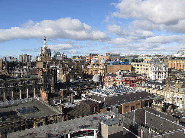 Glasgow skyline stock photo