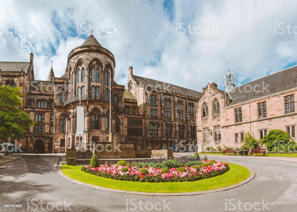 Glasgow University stock photo