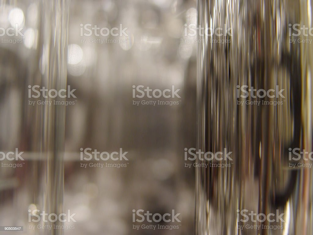 glass and chrome stock photo