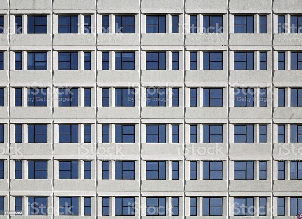 Glass and Concrete Office Block-Click for related images stock photo