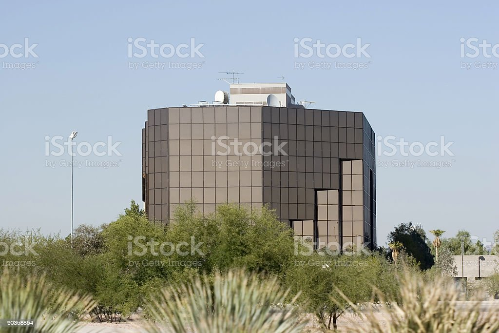 Glass and Steel royalty-free stock photo