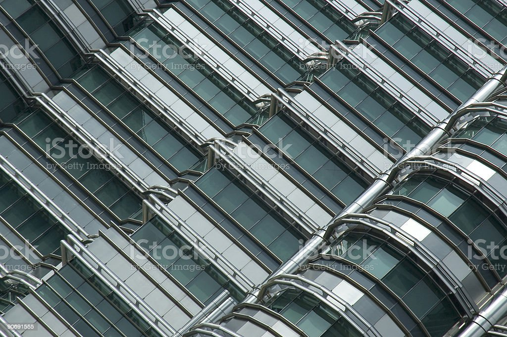 Glass and Steel stock photo