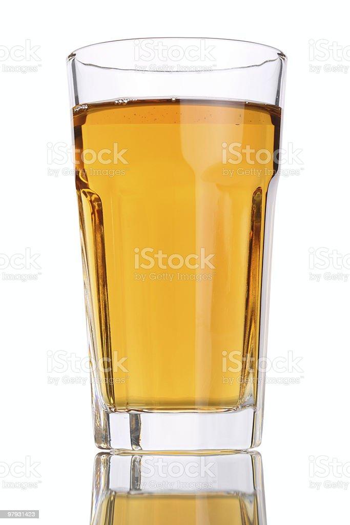 Glass Apple Juice royalty-free stock photo