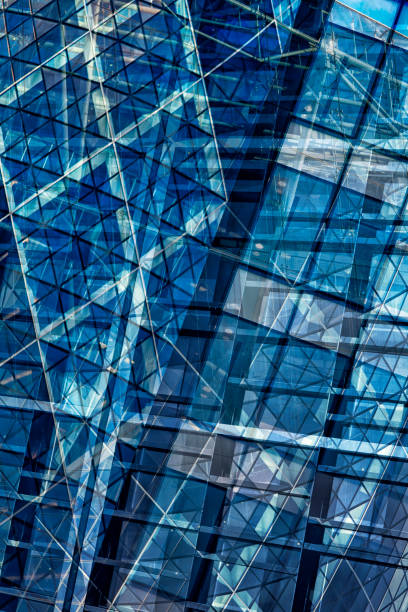 Glass Architecture Abstract stock photo