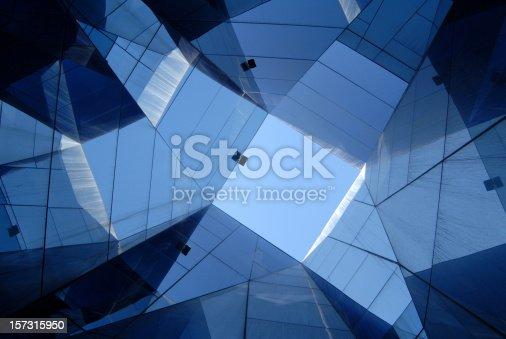 istock glass architecture, Barcelona 157315950