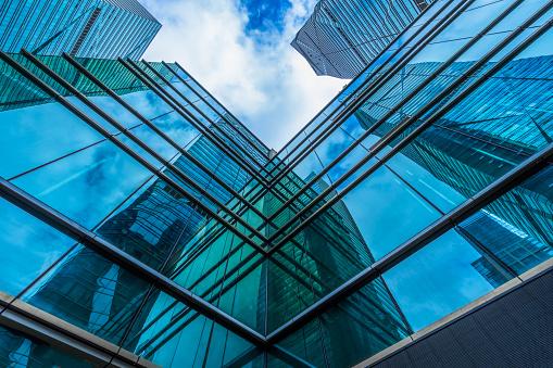 Building Exterior, Built Structure, Glass - Material, Metal,
