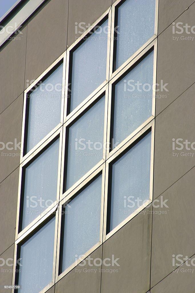 Glass architecture stock photo