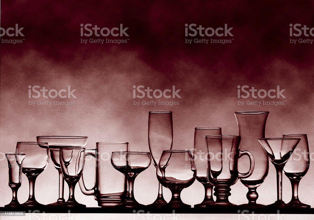 glass array 2 royalty-free stock photo