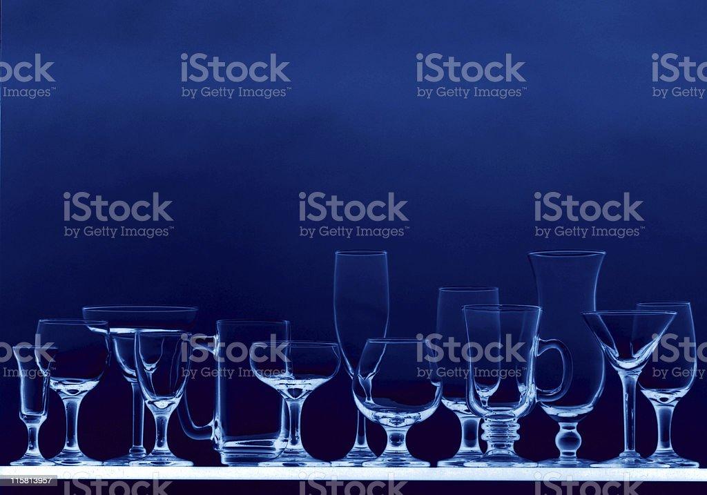 glass array 3 royalty-free stock photo