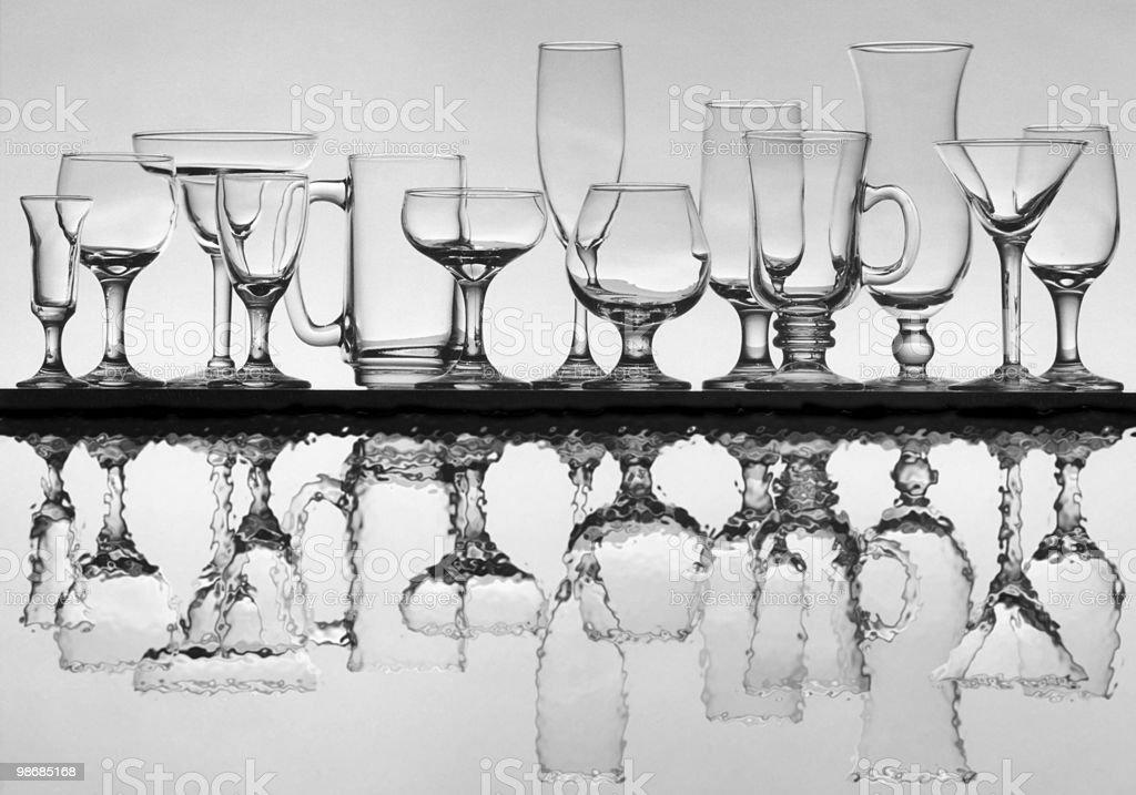 glass array 6 royalty-free stock photo