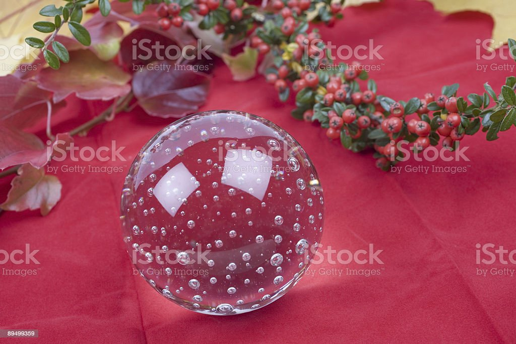 Glass ball royalty free stockfoto