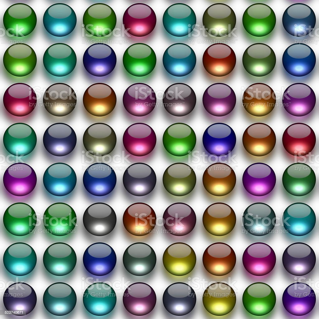 Glass balls generated texture stock photo