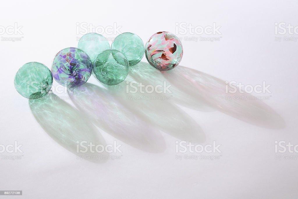 Glass Balls royalty-free stock photo
