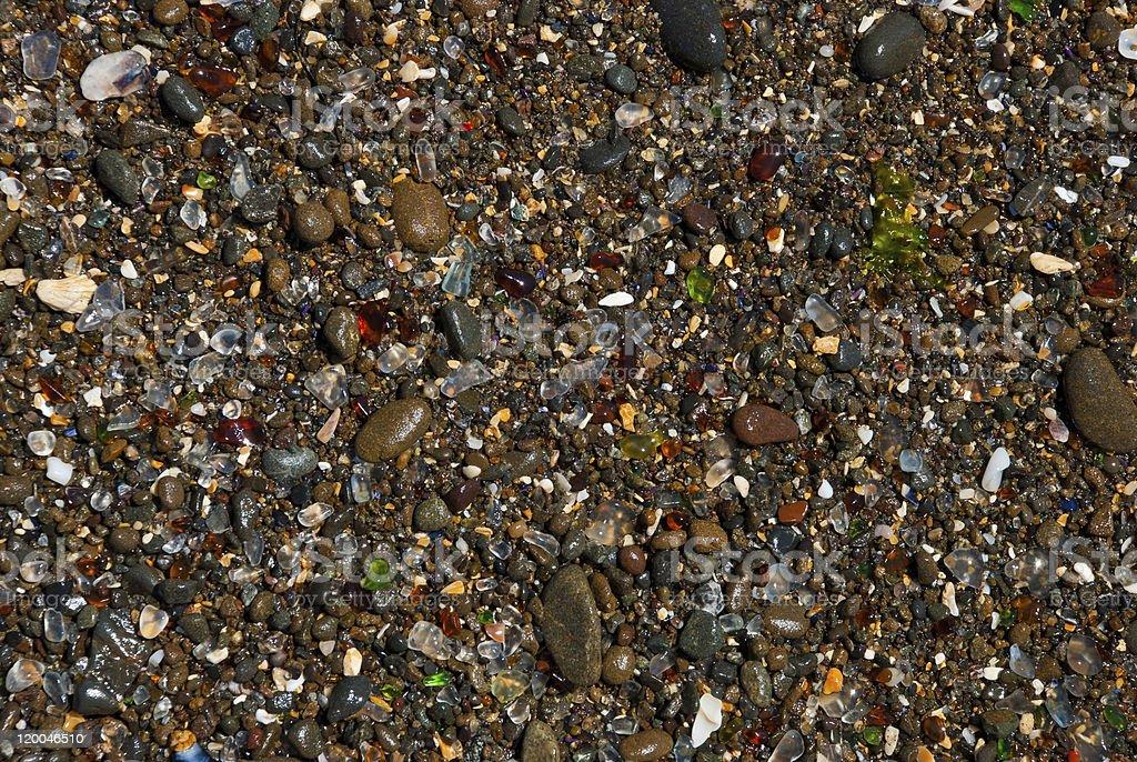Glass Beach stock photo