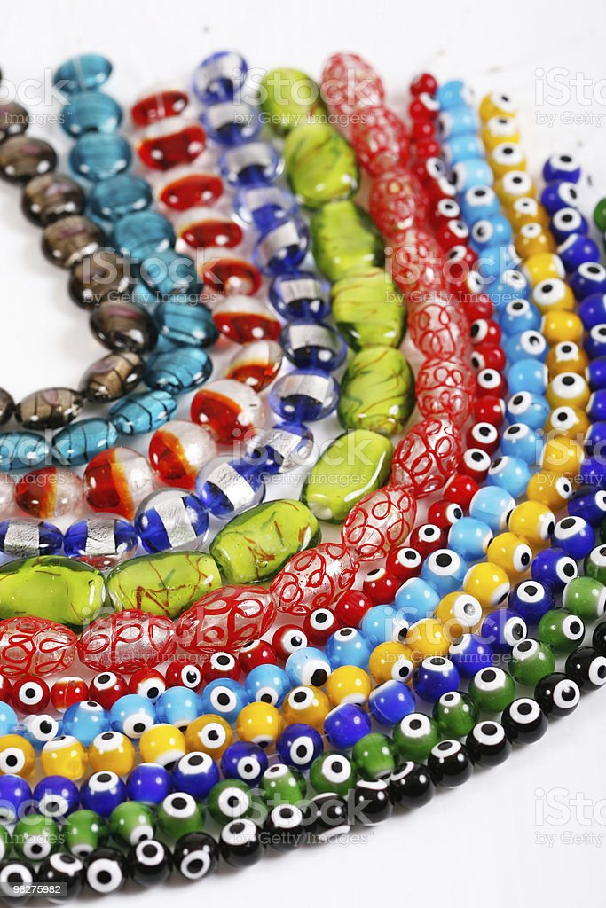 glass beads royalty-free stock photo