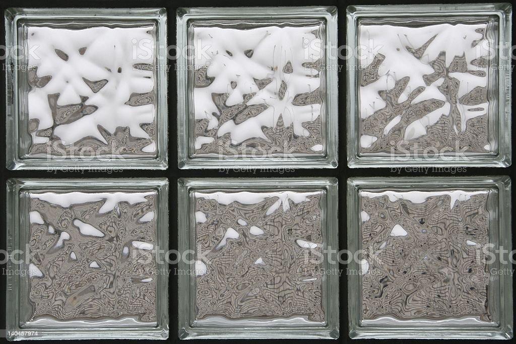 Glass Block window stock photo