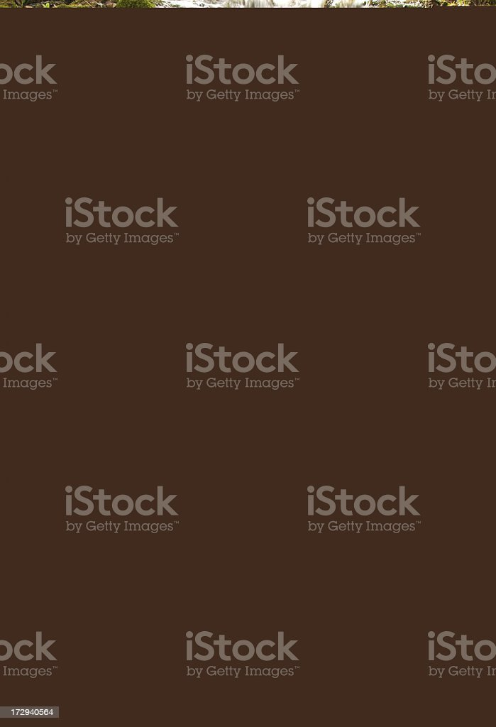 glass blue water royalty-free stock photo
