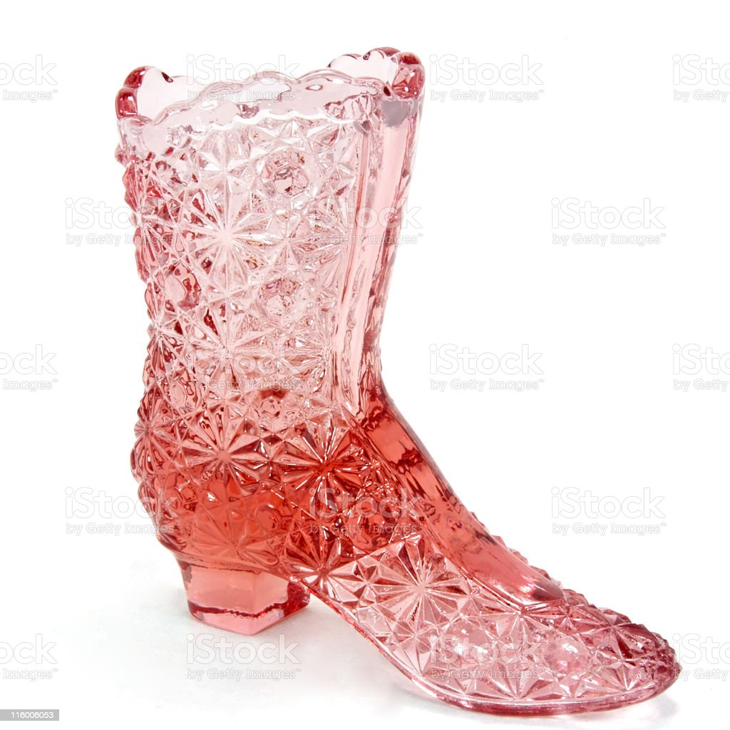 Glass Boot royalty-free stock photo