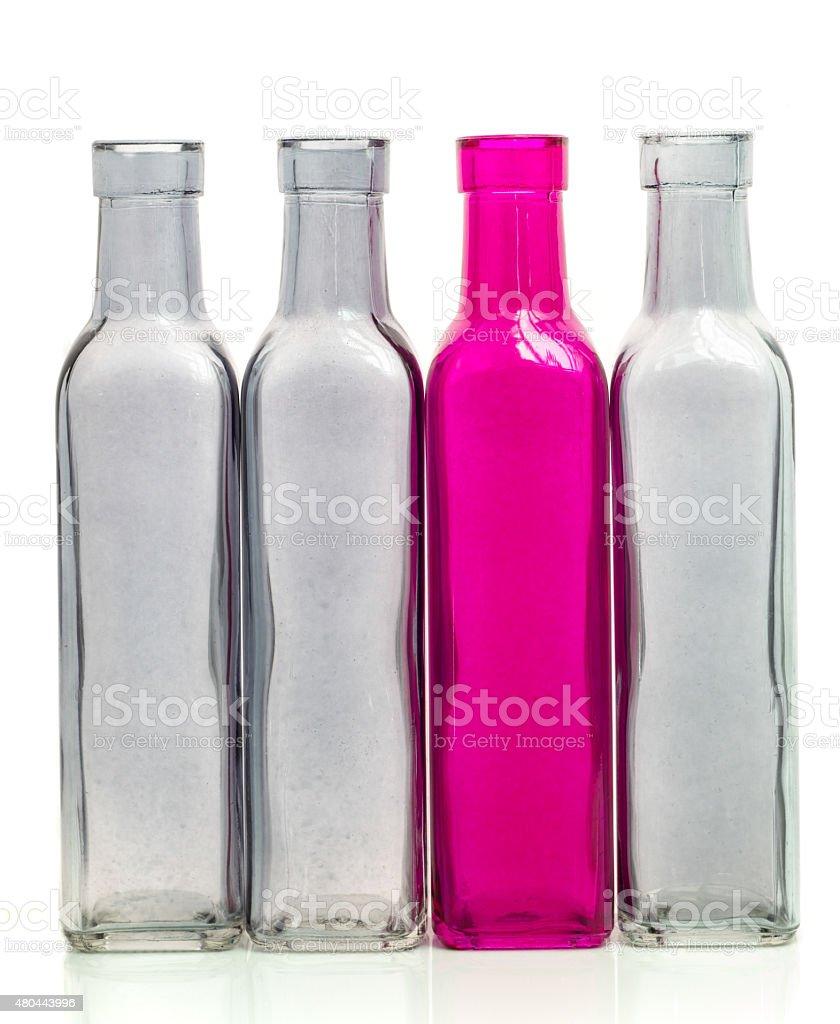 Glas Flasche isolieren – Foto