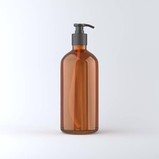 glasflasche - braunglasflaschen stock-fotos und bilder