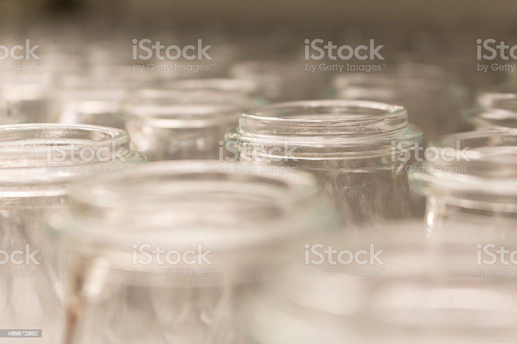 Glass Bottles stock photo