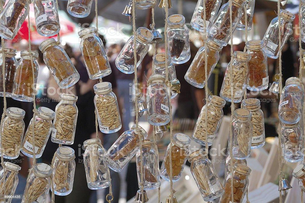 Стеклянные флаконы Стоковые фото Стоковая фотография