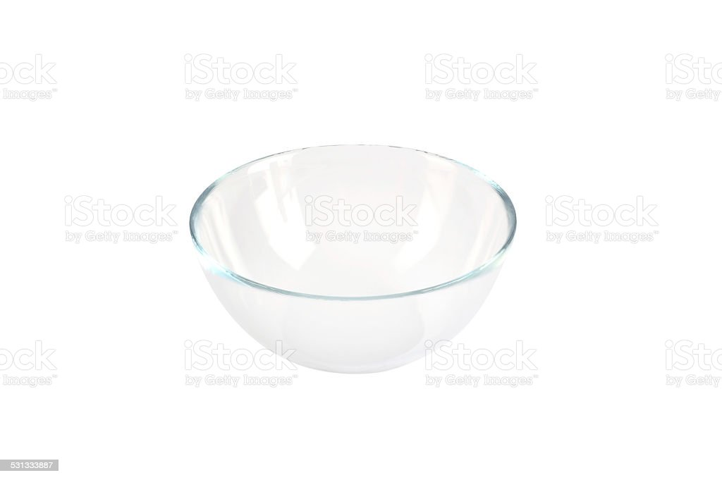 Glass Bowl+Clipping Path (Click for more) stock photo