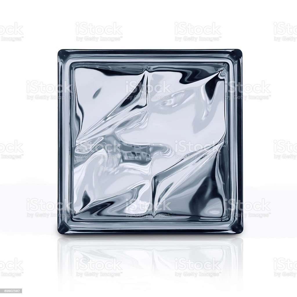 Glass brick royalty-free stock photo