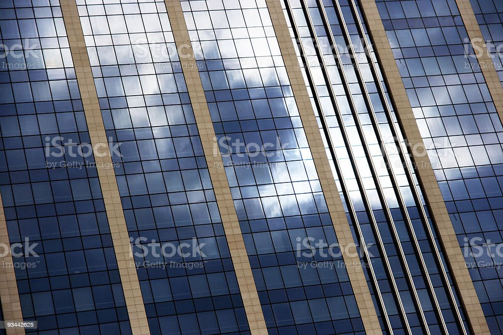 Glas-Gebäude Lizenzfreies stock-foto
