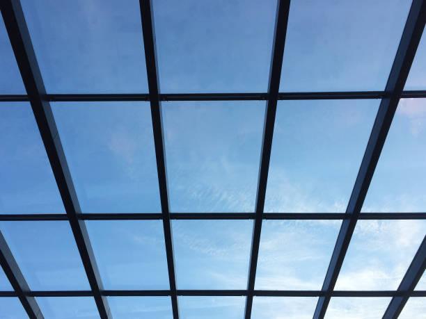 Glasdecke mit Oberlicht – Foto