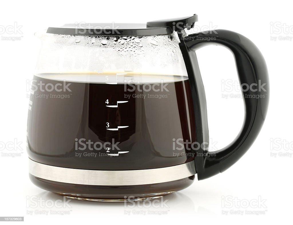 Glass Coffee Carafe stock photo