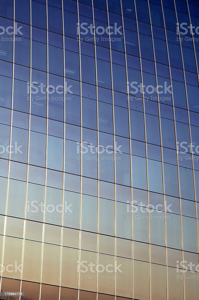 Glass Color Gradient, Dubai royalty-free stock photo