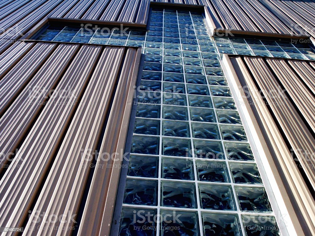 Glass Cross royalty-free stock photo