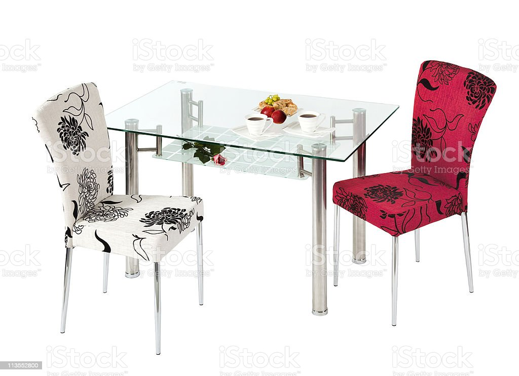 Picture of: Glass Dining Table And Chairs Stock Photo Download Image Now Istock