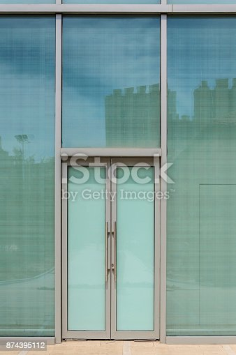 istock Glass doors and windows 874395112