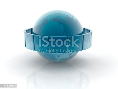 182110964 istock photo glass earth sphere 174931094