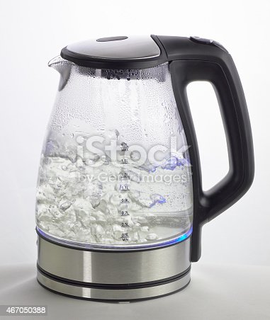 istock A glass electric kettle with boiling water inside 467050388