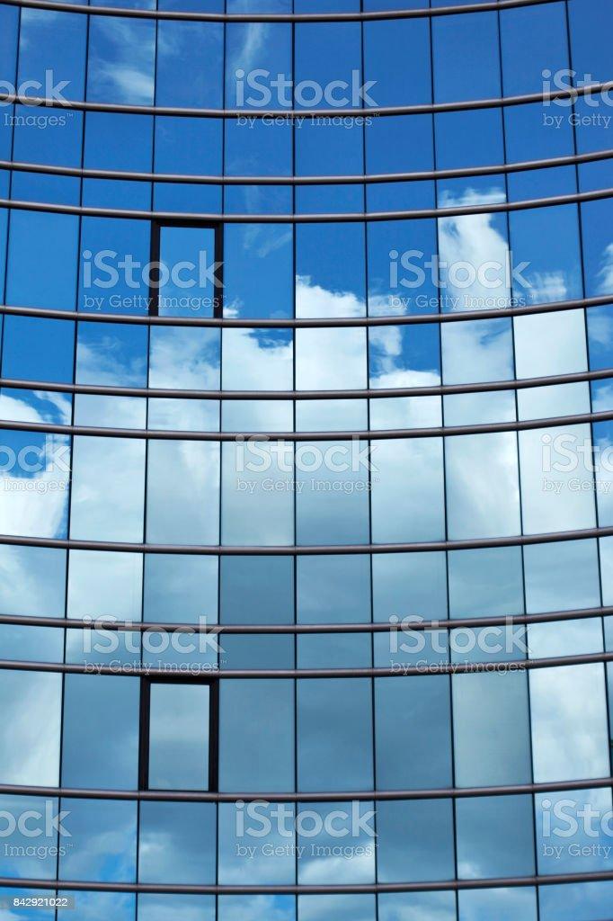 Façade d'un immeuble moderne en verre - Photo