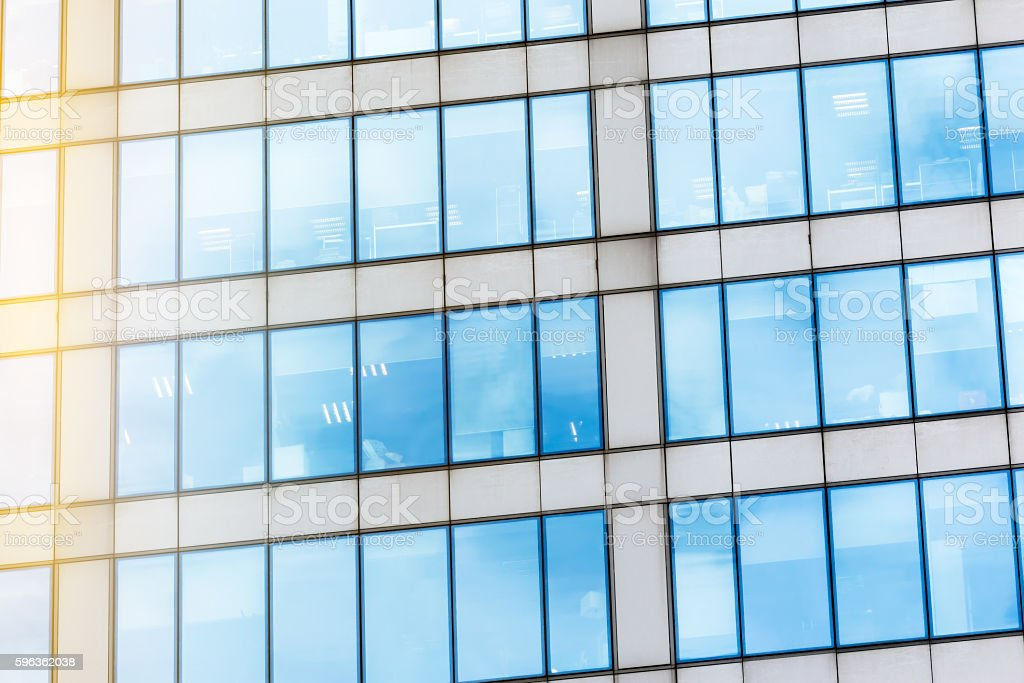 Glass facade texture royalty-free stock photo