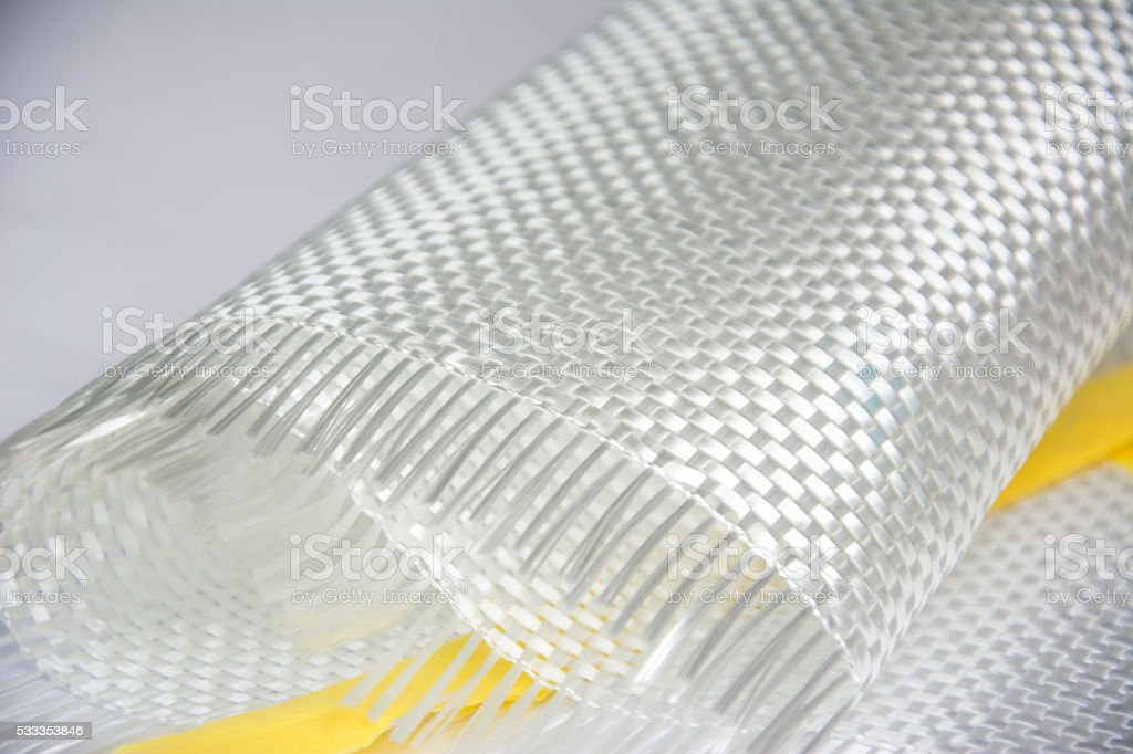 glass fiber composite raw material background stock photo