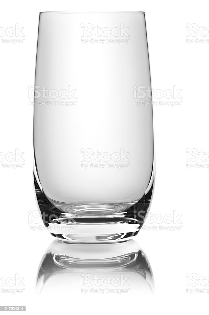 glass for drinks stock photo