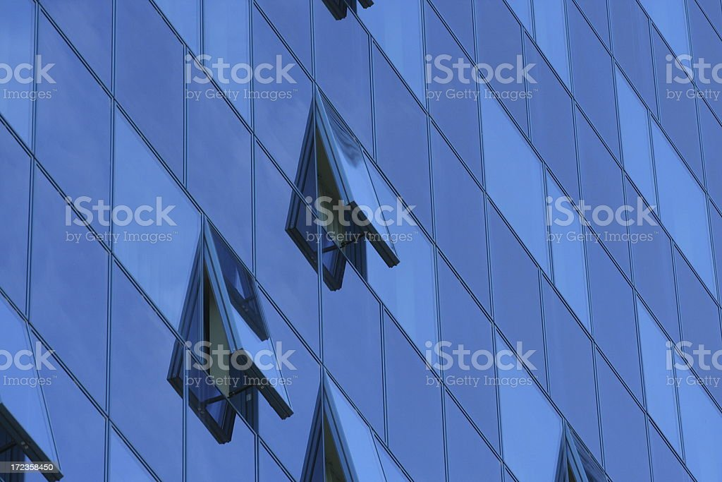 Glass front royalty-free stock photo