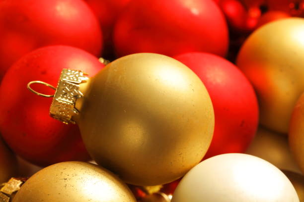 glass globe christmas ornaments glass globe christmas ornaments pejft stock pictures, royalty-free photos & images
