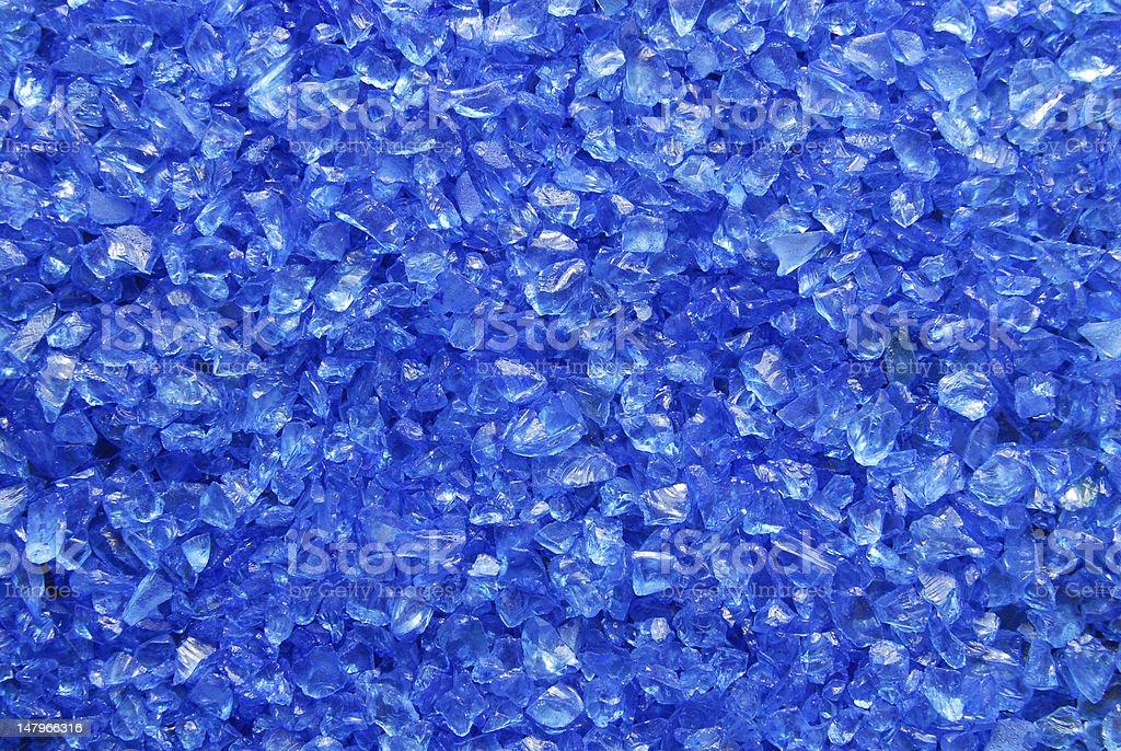 glass granules texture stock photo