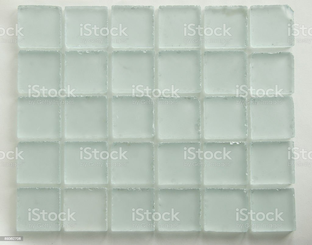 Glass Grid royalty-free stock photo